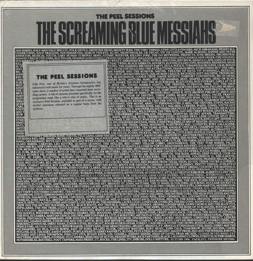 "Screaming Blue Messiahs: The Peel Sessions, 12"" Maxi Single (Vinyl)"