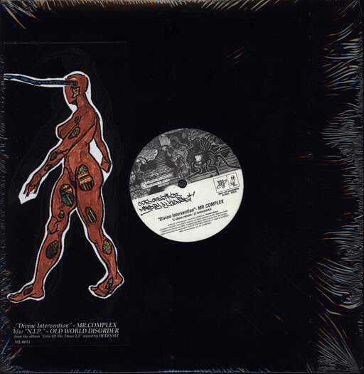 "Mr Complex: Divine Intervention / N.I.P. (Nothing In Particular), 12"" Maxi Single (Vinyl)"