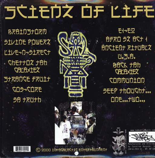 Scienz Of Life: Coming Forth By Day: The Book Of The Dead, LP (Vinyl)
