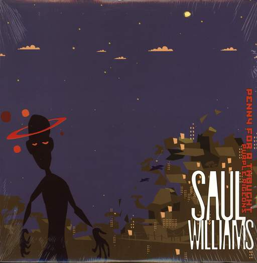 Saul Williams: Penny For A Thought / Purple Pigeons, LP (Vinyl)