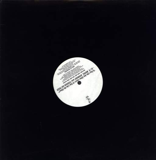 "El-P: A Day Like Any Other Remix (A Day Like No Other), 12"" Maxi Single (Vinyl)"