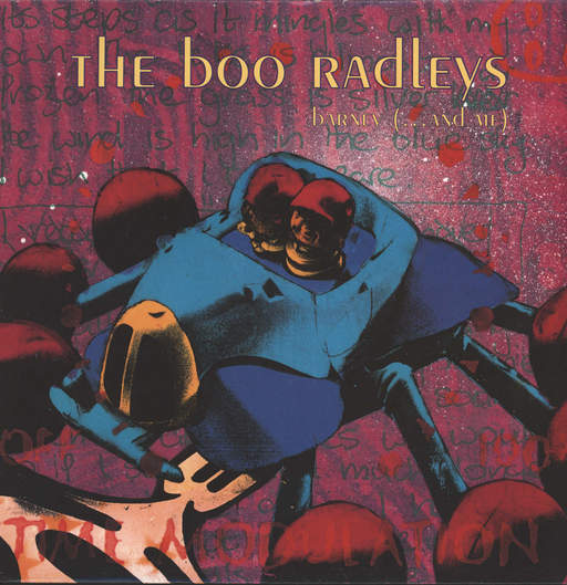 "Boo Radleys: Barney (... And Me), 12"" Maxi Single (Vinyl)"