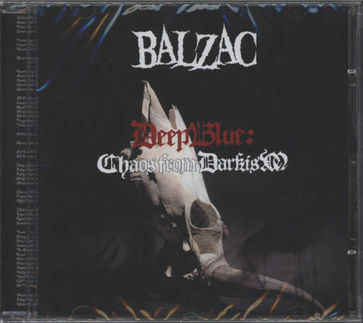 Balzac: Deep Blue: Chaos From Darkism, CD