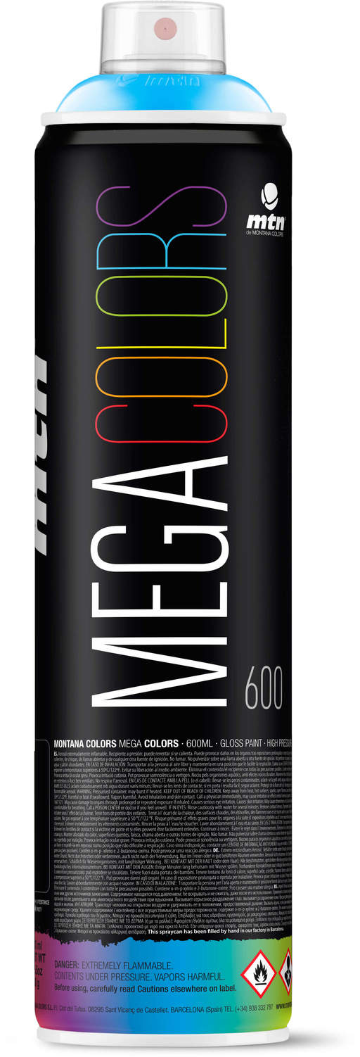 mtn: MTN Mega Color 600ml, Spray Can