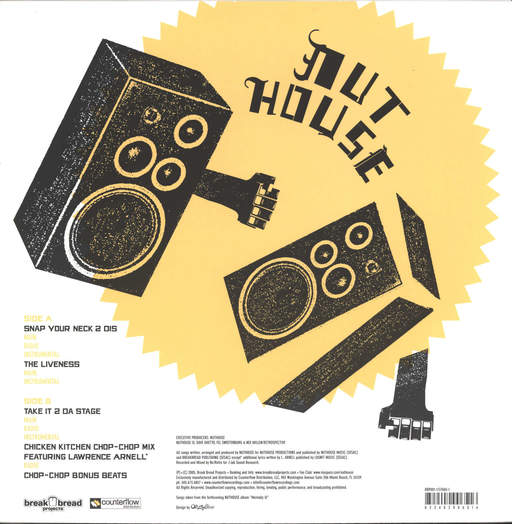 "Da Nuthouse: Snap Your Neck 2 Dis / Take It 2 Da Stage, 12"" Maxi Single (Vinyl)"