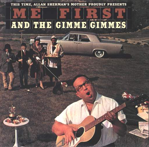 "Me First & The Gimme Gimmes: Billy / Uptown Girl, 7"" Single (Vinyl)"