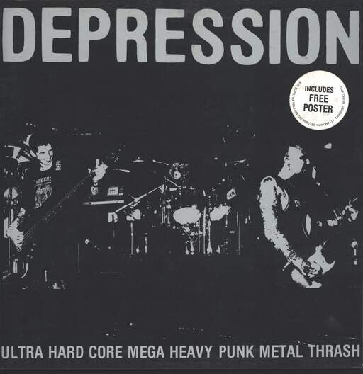 Depression: Ultra Hard Core Mega Heavy Punk Metal Thrash, LP (Vinyl)