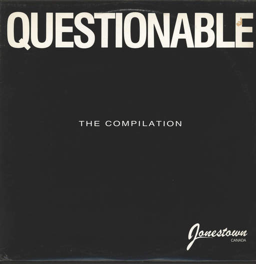 Various: Questionable: The Compilation, LP (Vinyl)