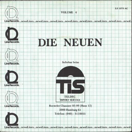 "Various: Newslines Volume 4, 7"" Single (Vinyl)"