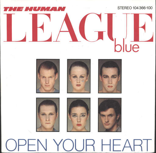 "Human League: Open Your Heart / Non-Stop, 7"" Single (Vinyl)"