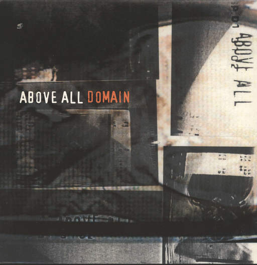 Above all: Domain, LP (Vinyl)