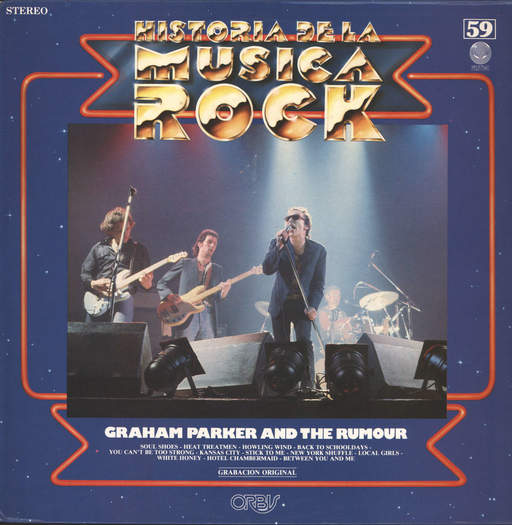 Parker and the Rumour, Graham: Historia De La Musica Rock 59, LP (Vinyl)