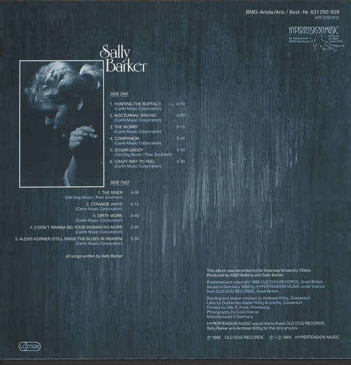 Sally Barker: Sally Barker, LP (Vinyl)