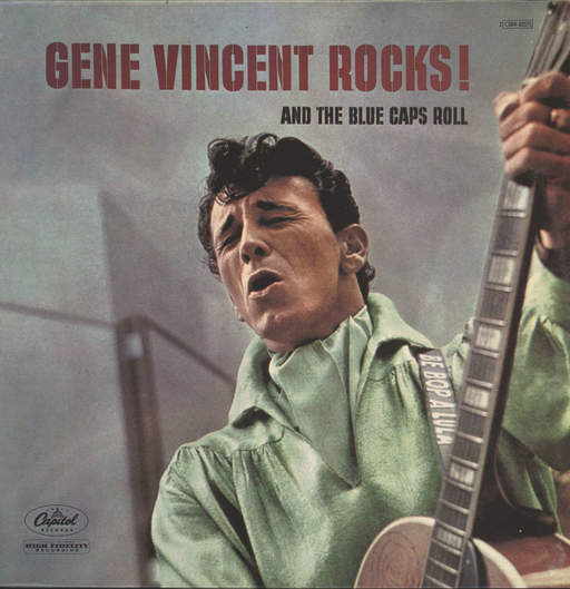 Vincent, Gene: Gene Vincent Rocks And The Blue Caps Roll, LP (Vinyl)