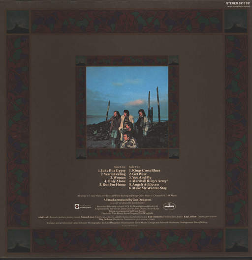 Lindisfarne: Back And Fourth, LP (Vinyl)