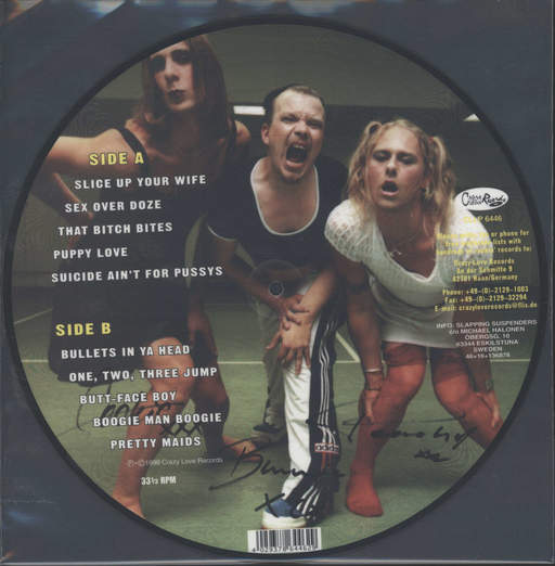 Slapping Suspenders: Slice Up Your Wife, LP (Vinyl)