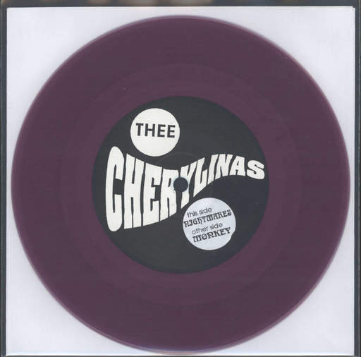 "Thee Cherylinas: Monkey / Nightmares, 7"" Single (Vinyl)"