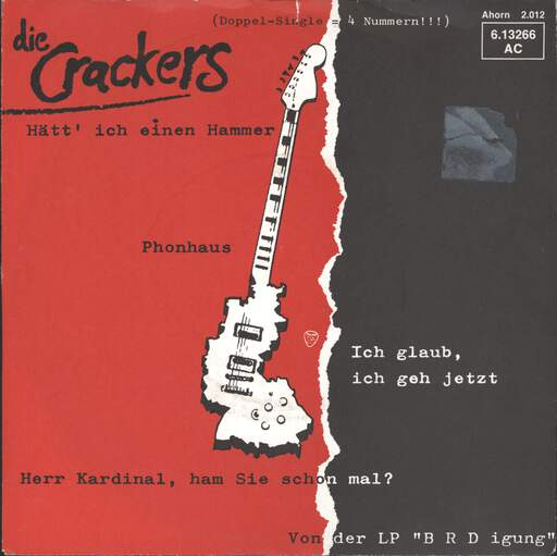 "Crackers: Phonhaus, 7"" Single (Vinyl)"