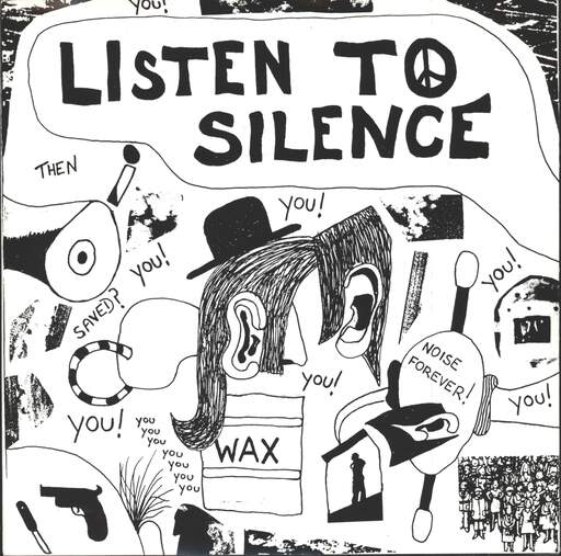 "Urgent Crunch Band: Listen To Silence, 7"" Single (Vinyl)"
