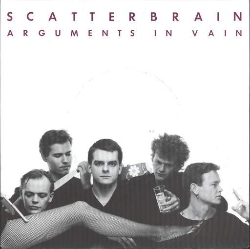 "Scatterbrain (Denmark): Arguments In Vain / Happy Tree, 7"" Single (Vinyl)"