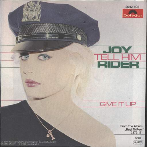 "Joy Rider: Tell Him / Give It Up, 7"" Single (Vinyl)"