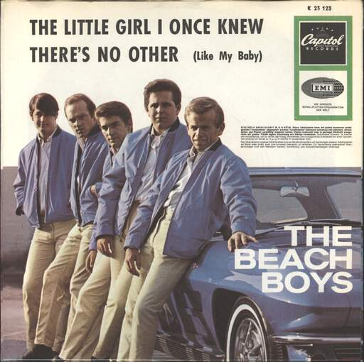"Beach Boys: The Little Girl I Once Knew / There's No Other (Like My Baby), 7"" Single (Vinyl)"