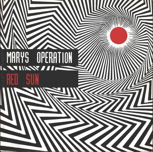 "Marys Operation: Red Sun, 7"" Single (Vinyl)"