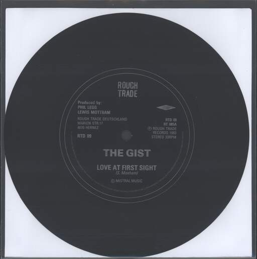"Gist: Love At First Sight, 7"" Single (Vinyl)"