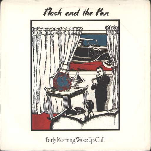 "Flash & the Pan: Early Morning Wake Up Call, 7"" Single (Vinyl)"