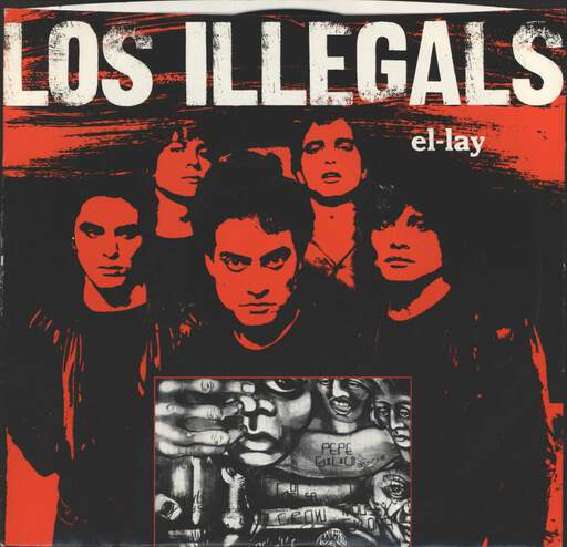 "Los Illegals: El-Lay, 7"" Single (Vinyl)"