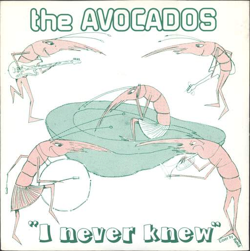 "Avocados: I Never Knew, 7"" Single (Vinyl)"
