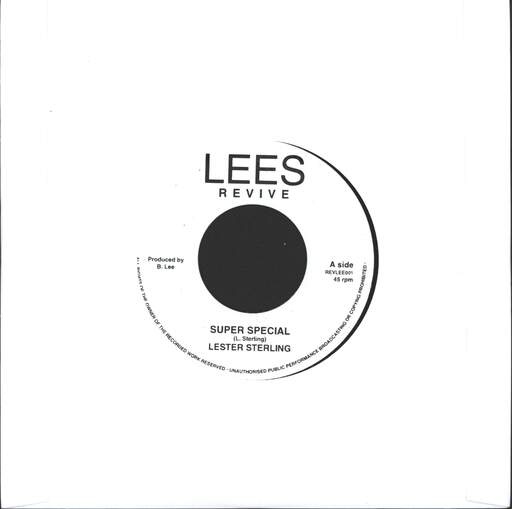 "Lester Sterling: Super Special / Lester Special, 7"" Single (Vinyl)"