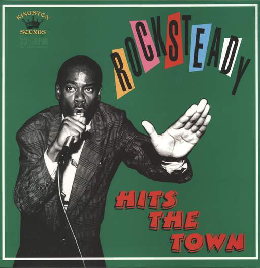 VARIOUS - Rocksteady Hits The Town - 33T
