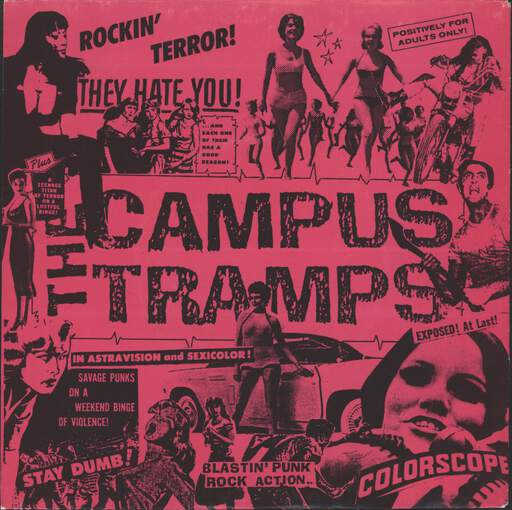 "Campus Tramps: Jacqueline, 7"" Single (Vinyl)"