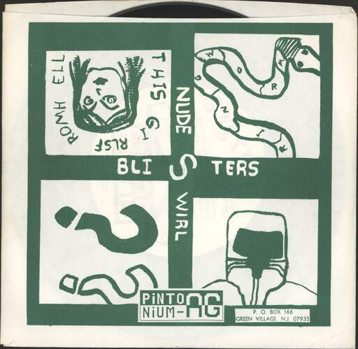 "Blisters: Taking All Bets, 7"" Single (Vinyl)"