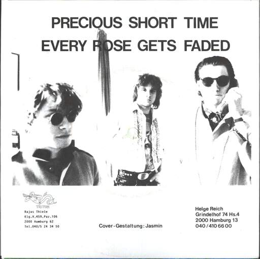 "Blue Stories: Precious Short Time / Every Rose Gets Faded, 7"" Single (Vinyl)"