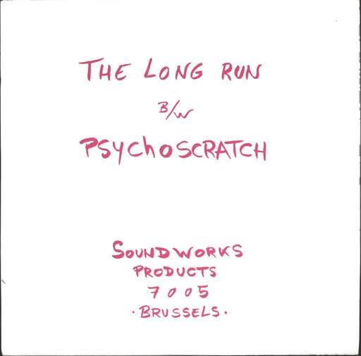 "Snowy Red: The Long Run / Psychoscratch, 7"" Single (Vinyl)"