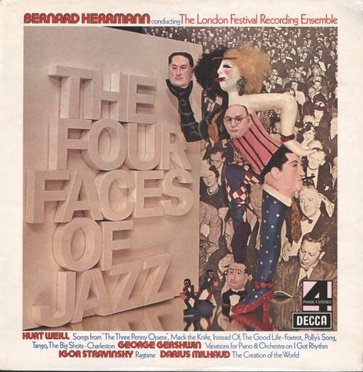 Bernard Herrmann: The Four Faces Of Jazz, LP (Vinyl)