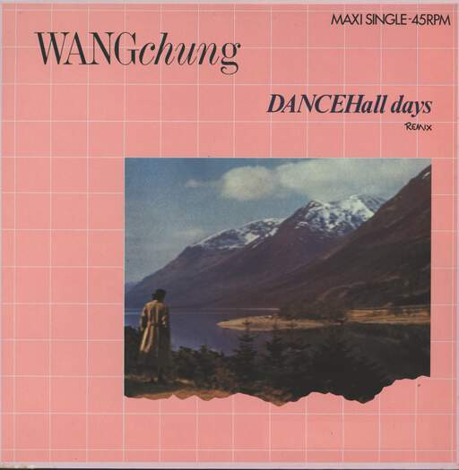 "Wang Chung: Dance Hall Days (Remix 8:02 min), 12"" Maxi Single (Vinyl)"