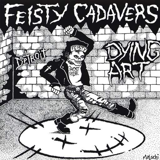 "Feisty Cadavers: Dying Art, 7"" Single (Vinyl)"