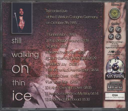 Lenny Kravitz: Still Walking On Thin Ice, CD