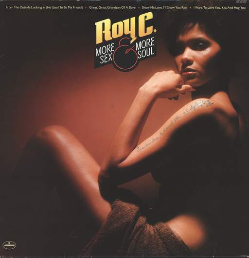 Roy C. Hammond: More Sex And More Soul, LP (Vinyl)