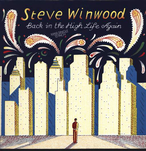 "Steve Winwood: Back In The High Life Again, 12"" Maxi Single (Vinyl)"