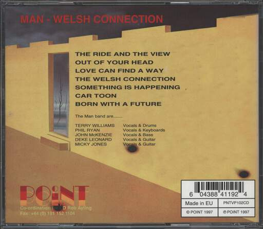 Man: Welsh Connection, CD