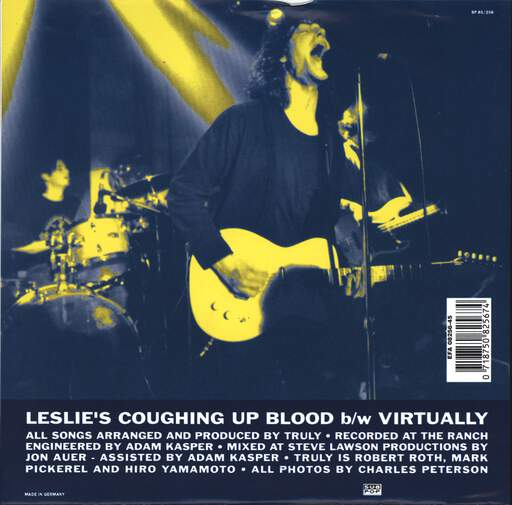 "Truly: Leslie's Coughing Up Blood, 7"" Single (Vinyl)"