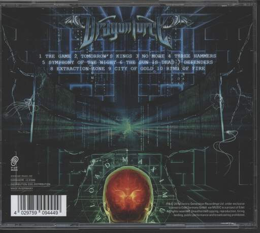 Dragonforce: Maximum Overload, CD