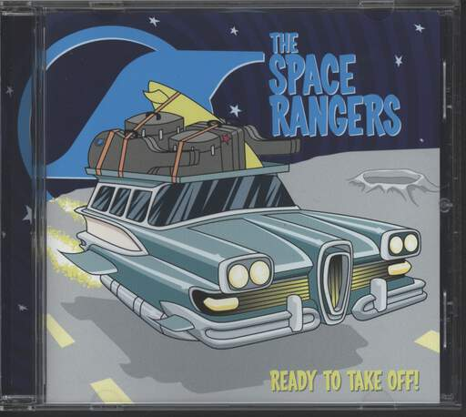 Space Rangers: Ready To Take Off!, CD