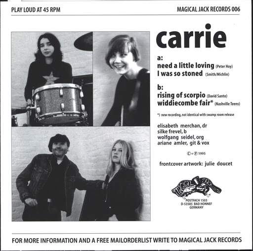 "Carrie: Need A Little Loving, 7"" Single (Vinyl)"