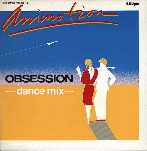 "Animotion: Obsession (Dance Mix), 12"" Maxi Single (Vinyl)"