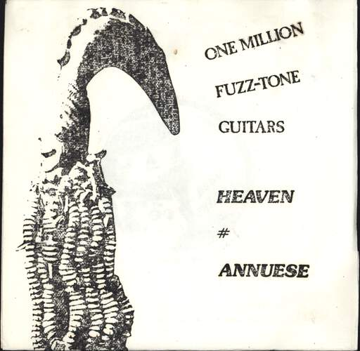 "One Million Fuzztone Guitars: Heaven, 7"" Single (Vinyl)"